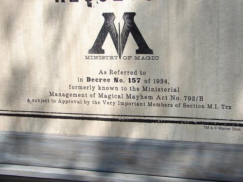 Close-up of sign