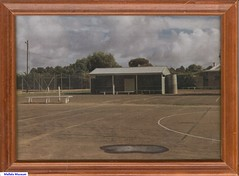 Mallala Tennis Club shed prior to 1979.