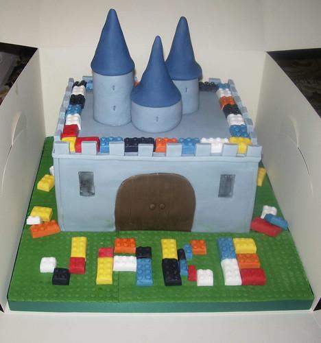 Lego Castle Cake