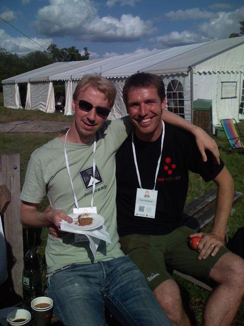 Happy Emil Eifrem & Peter Neubauer, Neo Technology