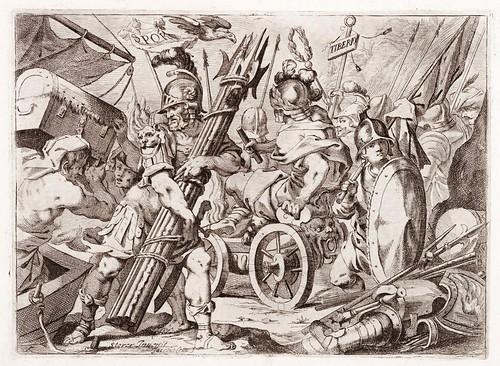 011 La pompa della solenne entrata fatta dalla serenissima Maria Anna austriaca  figlia dellinuittissimo imperante Ferdinando terzo et sposa del potentissimo Filippo ...1651