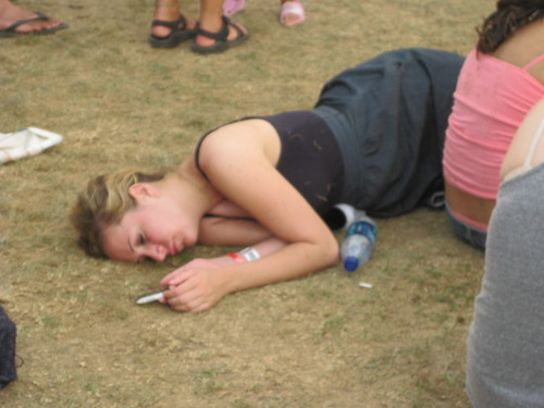 Pass out girl Drunk