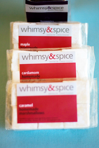 Homemade marshmallows @ Whimsy and Spice