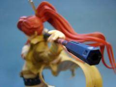 Yoko Littner - rifle nozzle focus (Jamaipanese) Tags: anime scale 18th figure yoko alter gurren lagann littner