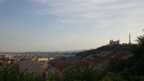 Lyon from Plateu