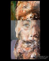 detalle (manologaribay) Tags: portrait woman color art textura painting paint arte faces expression objetos retratos caras cuerpos visual mujeres lugar figurative pintura espacio limits desnudos cages limite rostros encierro fuerza plastica expresin artecontemporaneo trao artesplasticas artevisuales