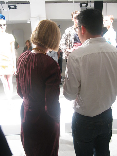 Anna Wintour and Peter Som