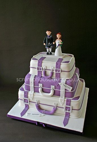 Wedding Cake - Suitcases
