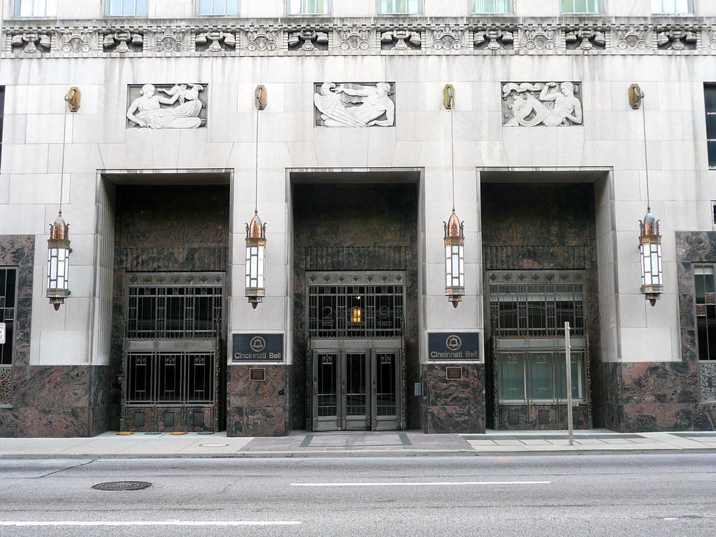 The Cincinnati Bell Equipment Building