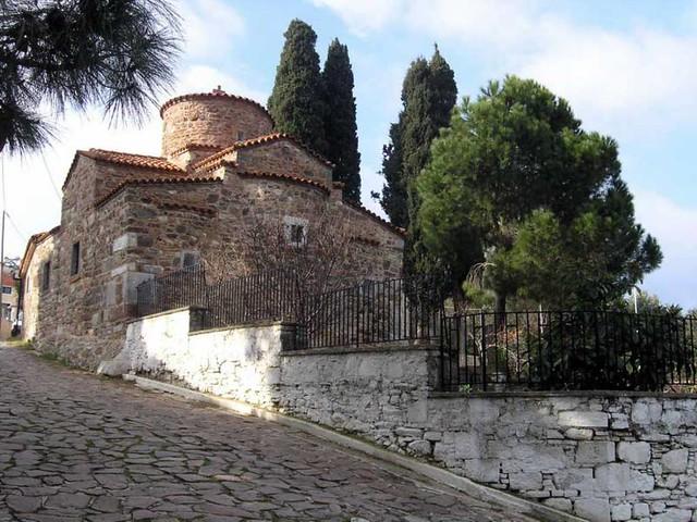Βόρειο Αιγαίο - Λέσβος - Δήμος Λουτροπόλεως Θερμής Παναγία Τρουλωτή, Πύργοι