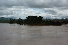 Kon Tum (Post Ketsana) (datadayim) Tags: road bridge storm water river aftermath asia flood vietnam environment southeast 2009 typhoon kontum ketsana