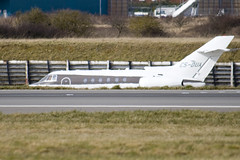 CS-DUA - Netjets Europe - Hawker Beechcraft 750 - Luton - 090309 - Steven Gray - IMG_0691