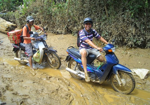 Delivering Relief Supplies to Flood Victims in Vietnam