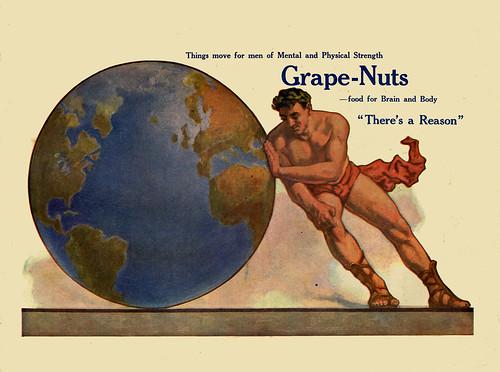 Grape Nuts Ad. 1927