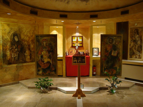 Chapel in Athens International Airport (4)