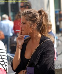 sscand3903 (pf396418) Tags: girls woman girl women cigarette candid smoke smoking cig candids smokin fumer