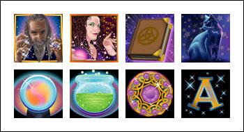 free Warlocks Spell slot game symbols