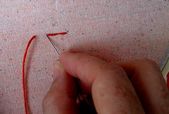 Back Stitch Step 4