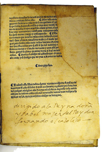 Annotations in Pulgar, Fernando de: Libro de los claros varones de Castilla
