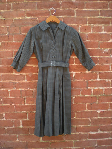 Etsy: Vintage 50's Junior's Cotton Dress