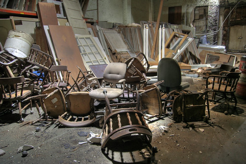 Warehouse Chair Pile 1