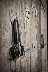 Aldaba (Cris_ST) Tags: puerta iglesia aldaba llamador forja crisst canoneos40d cardenetecuenca
