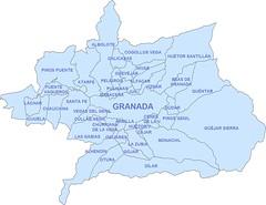 Municipios de la Vega de Granada // Municipalities of Vega de Granada shire