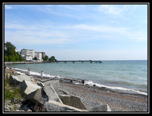 Am Strand von Sassnitz