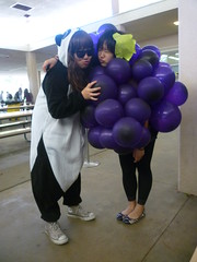 The Panda and the Grape (YoungHam) Tags: cute halloween panda grape kigurumi
