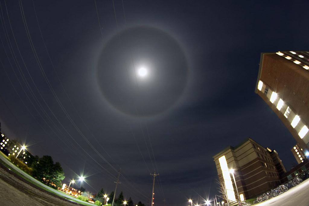 Moon w/ Halo