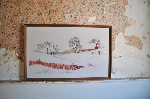 Vintage Barn Embroidery