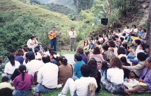 1993 Baptismal service