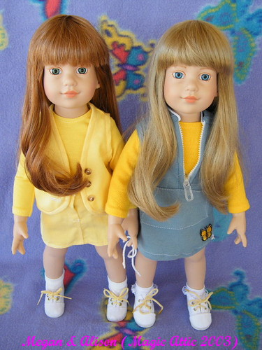 American Girl Collectors 187 Magic Attic Dolls