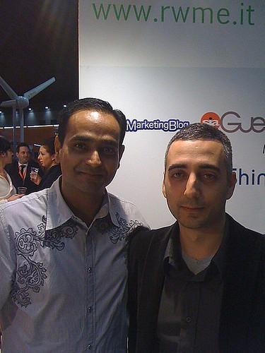Io e Avinash al RWME