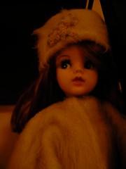 Winter Sidepart Sindy (seejanerunning) Tags: fur doll sindy sidepart