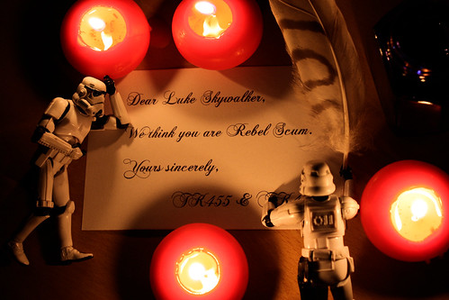 Dear Luke Skywalker...