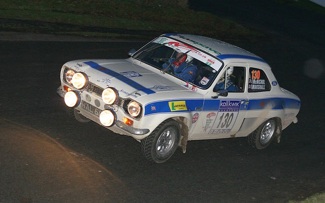 Kall Kwik Rally - David Marshall - 130