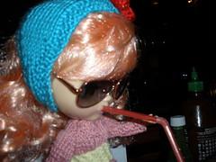 Quinn Hanging Out At Dos Segundos