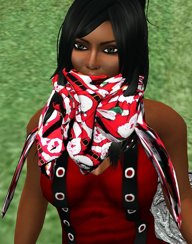Red or Dead hunt W&D Fantasy Scarf