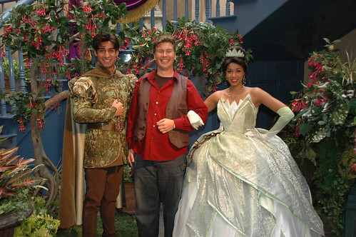 the princess and the frog tiana and naveen. Meeting Tiana and Naveen at