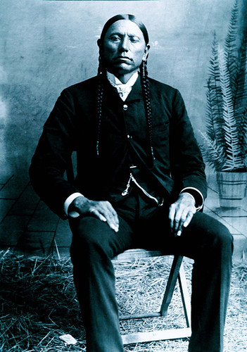 Chief Quanah Parker, Citizen's garb.