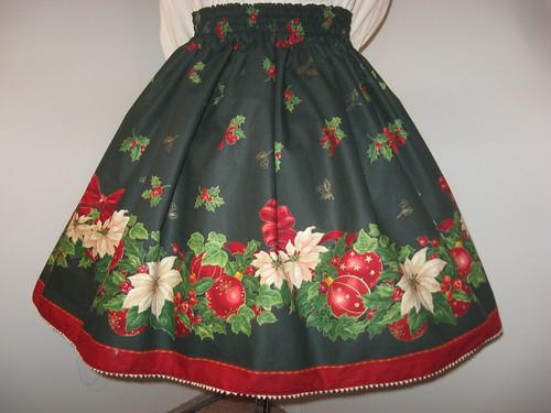 Christmas skirt 2009 005