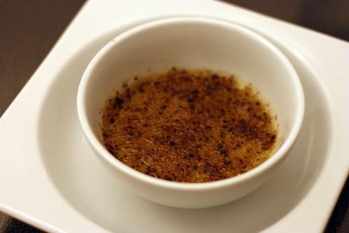Sicilian Pistachio Creme Brulée