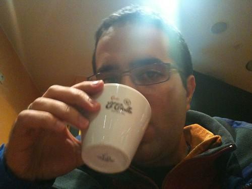 Café en Huesca 7:00