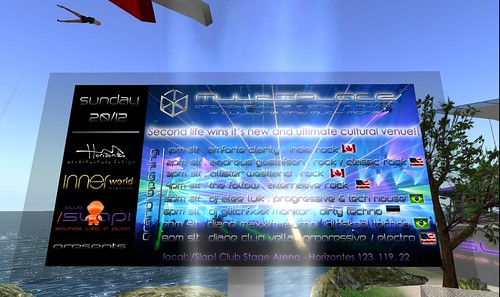 multiplace events in second life