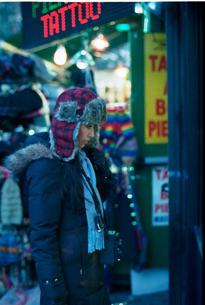 過期底片+冬季街頭