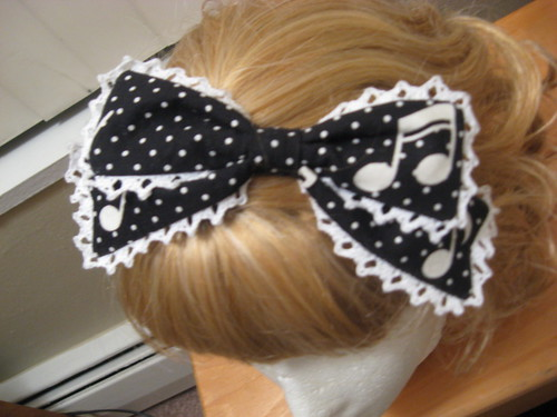 music hairbow 002