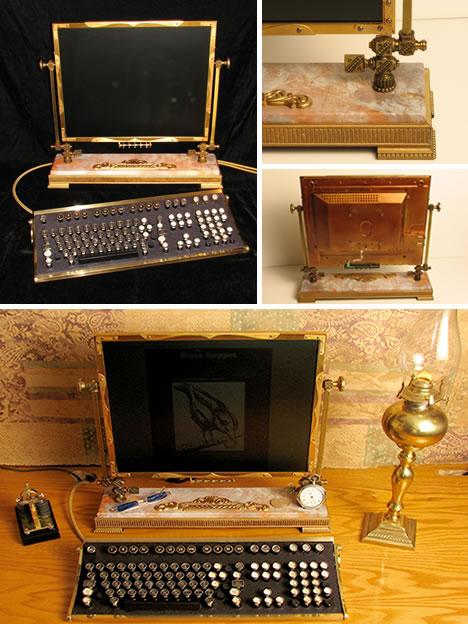 steampunk flat panel