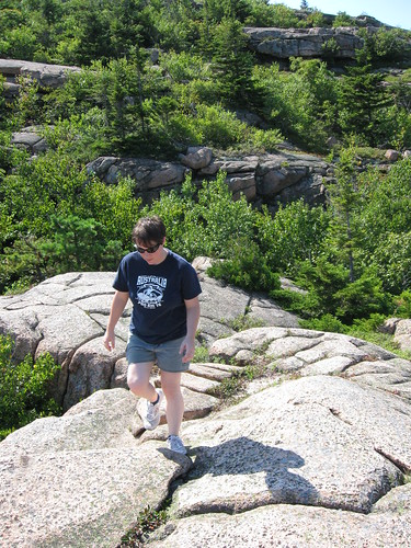 Hiking in Acadia