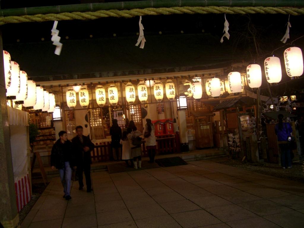 露天神社(お初天神)
